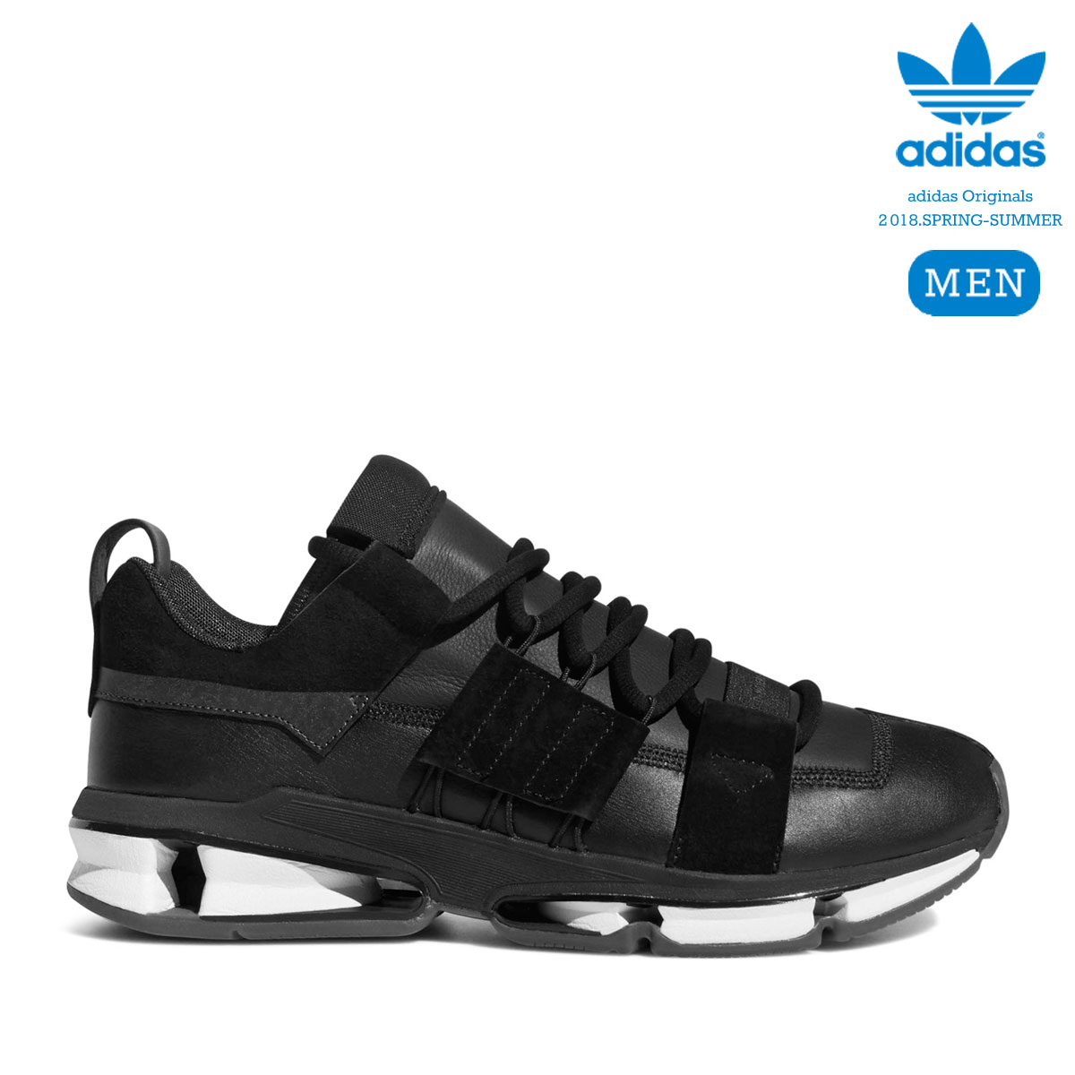 adidas Originals TWINSTRIKE ADV STRETCH LEATHER (Core Black/Running White/Core Black) 【メンズサイズ】【18SS-I】