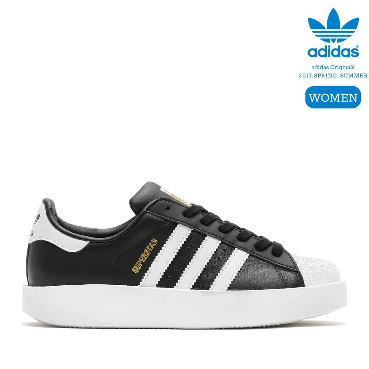 cheaper 23fdc be5f2 adidas Originals SUPERSTAR BD W (Core Black Running White Gold Mett) (Adidas  originals superstar boldface)