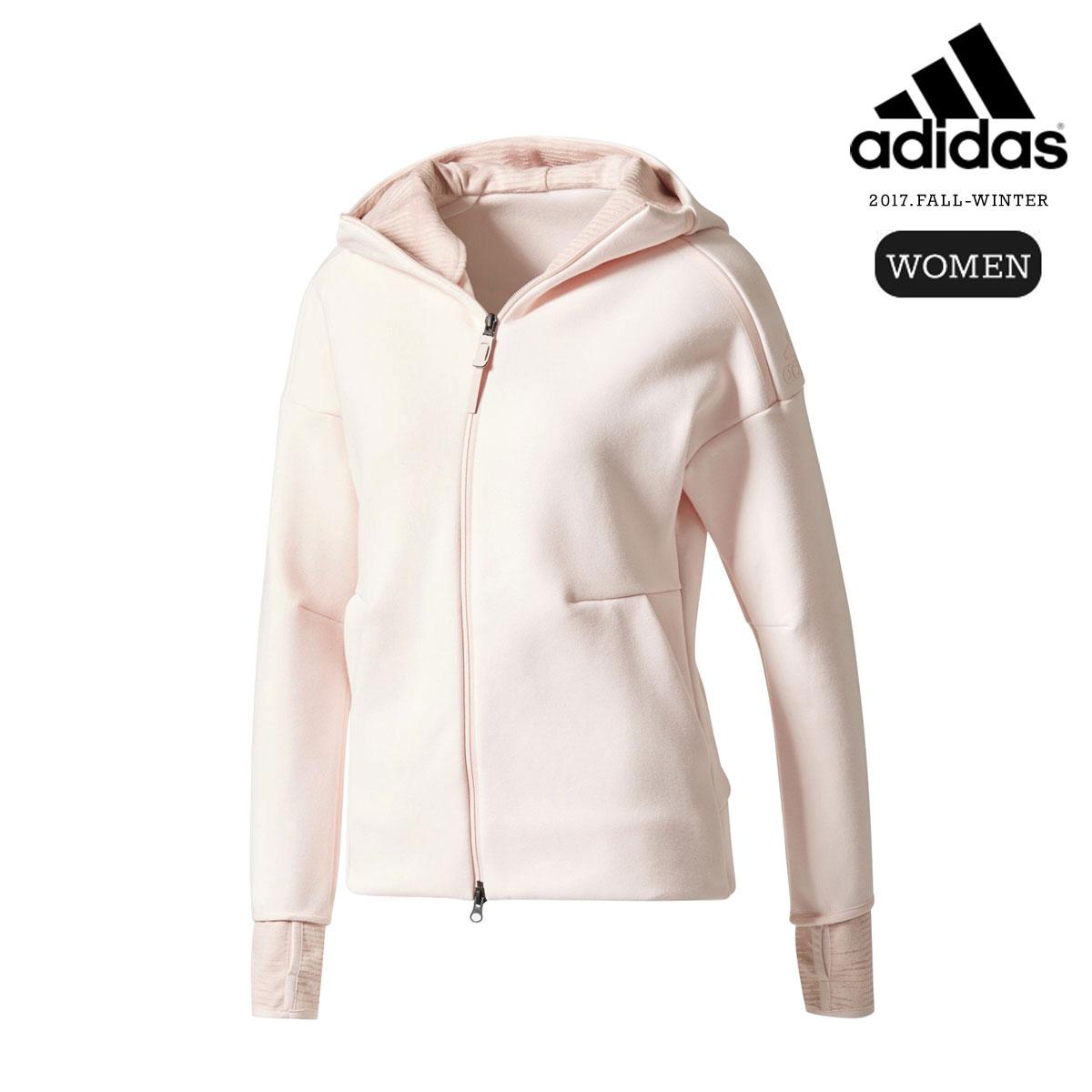 adidas W adidas Z.N.E. HOODIE PULSE (Ice Pink)