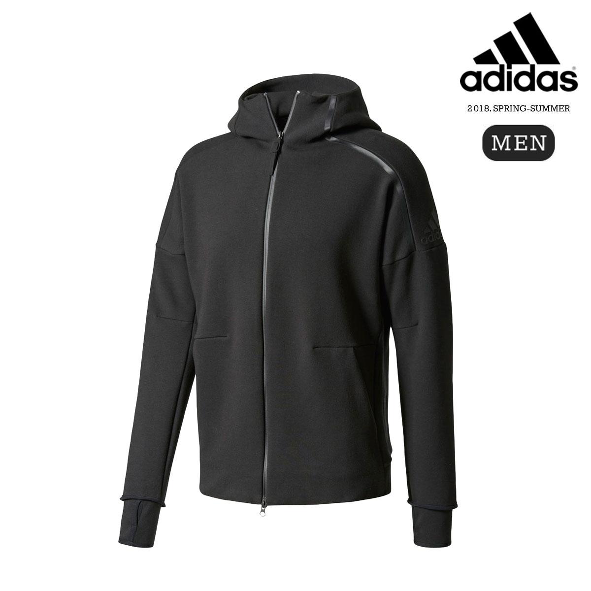 adidas M adidas Z.N.E. HOODIE 2.0 (Black) 【メンズサイズ】【18SS-I】【20】【sale0123】