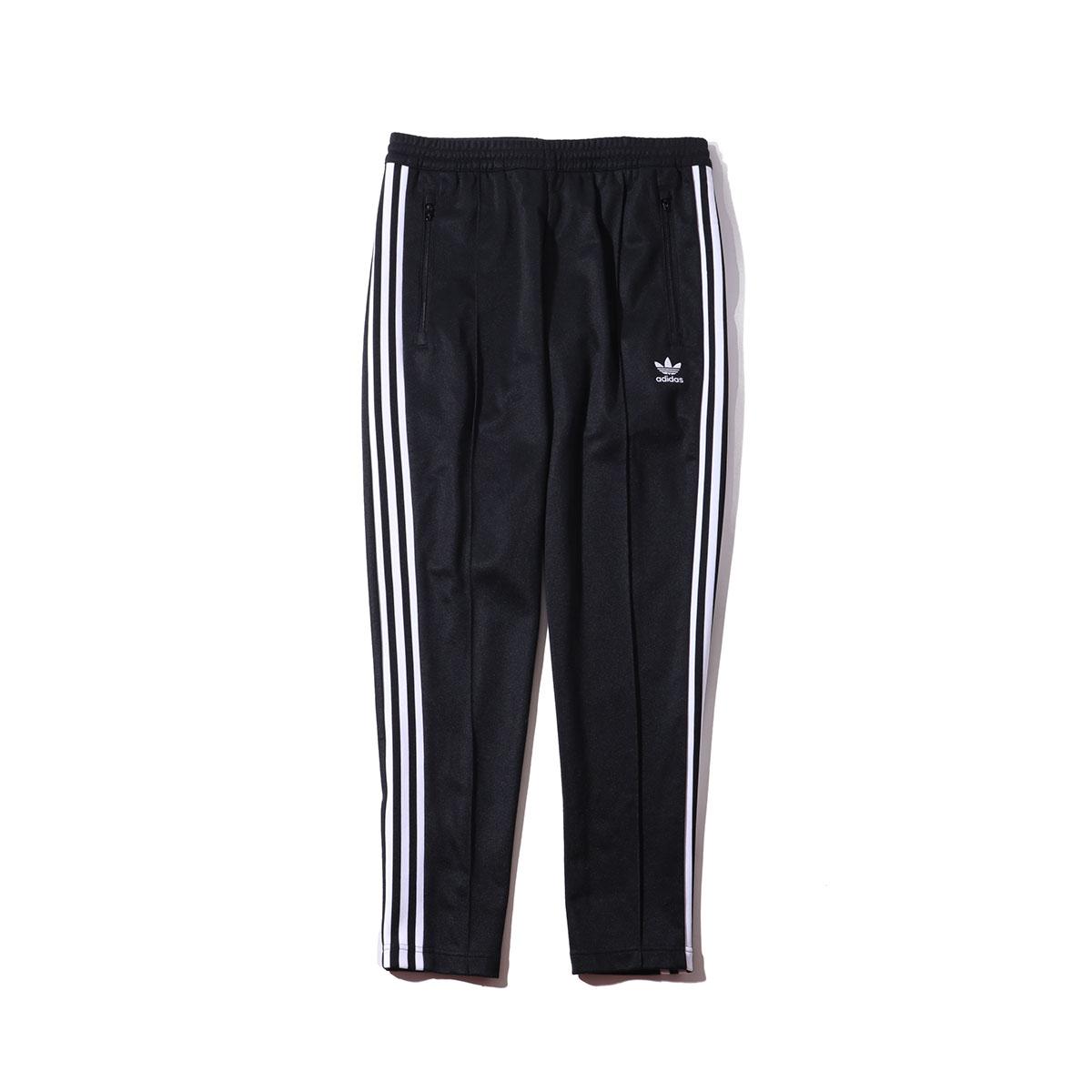 adidas Originals BECKENBAUER TRACK PANTS (Black) (Adidas originals Beckenbauer trackpants)