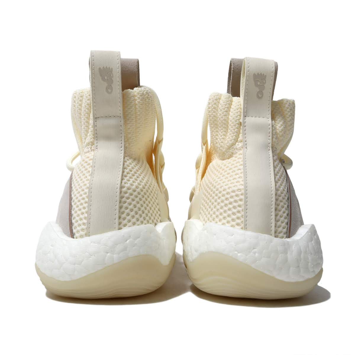 93457b3ba adidas Originals CRAZY BYW LVL X (CREAM WHITE RAW WHITE RAW AMBER) (Adidas  originals crazy BYW LVL X)