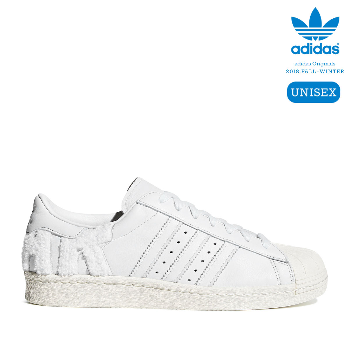 c8b607ca917 adidas Originals SUPERSTAR 80s (Crystal White Crystal White Off White)