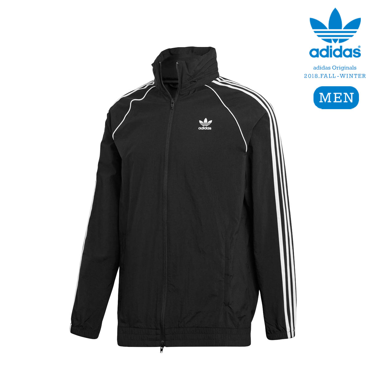 adidas Originals SST WINDBREAKER (Black) 【メンズサイズ】【18FW-I】