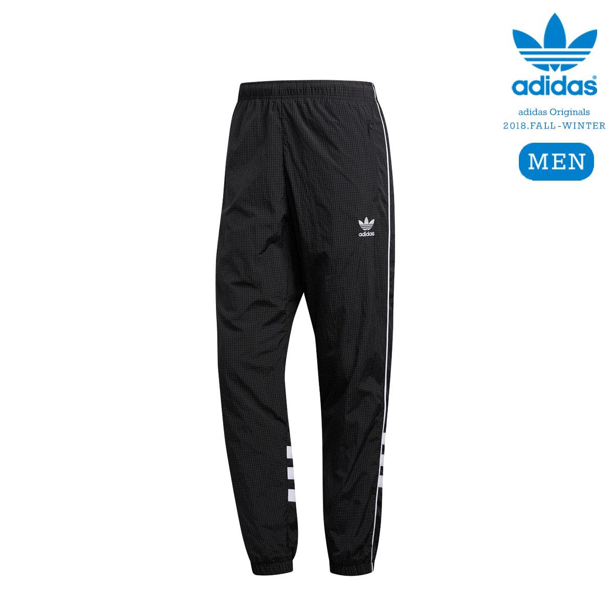 adidas Originals AUTH RIPSTOP TRACK PANTS (Black) 【メンズサイズ】【18FW-I】