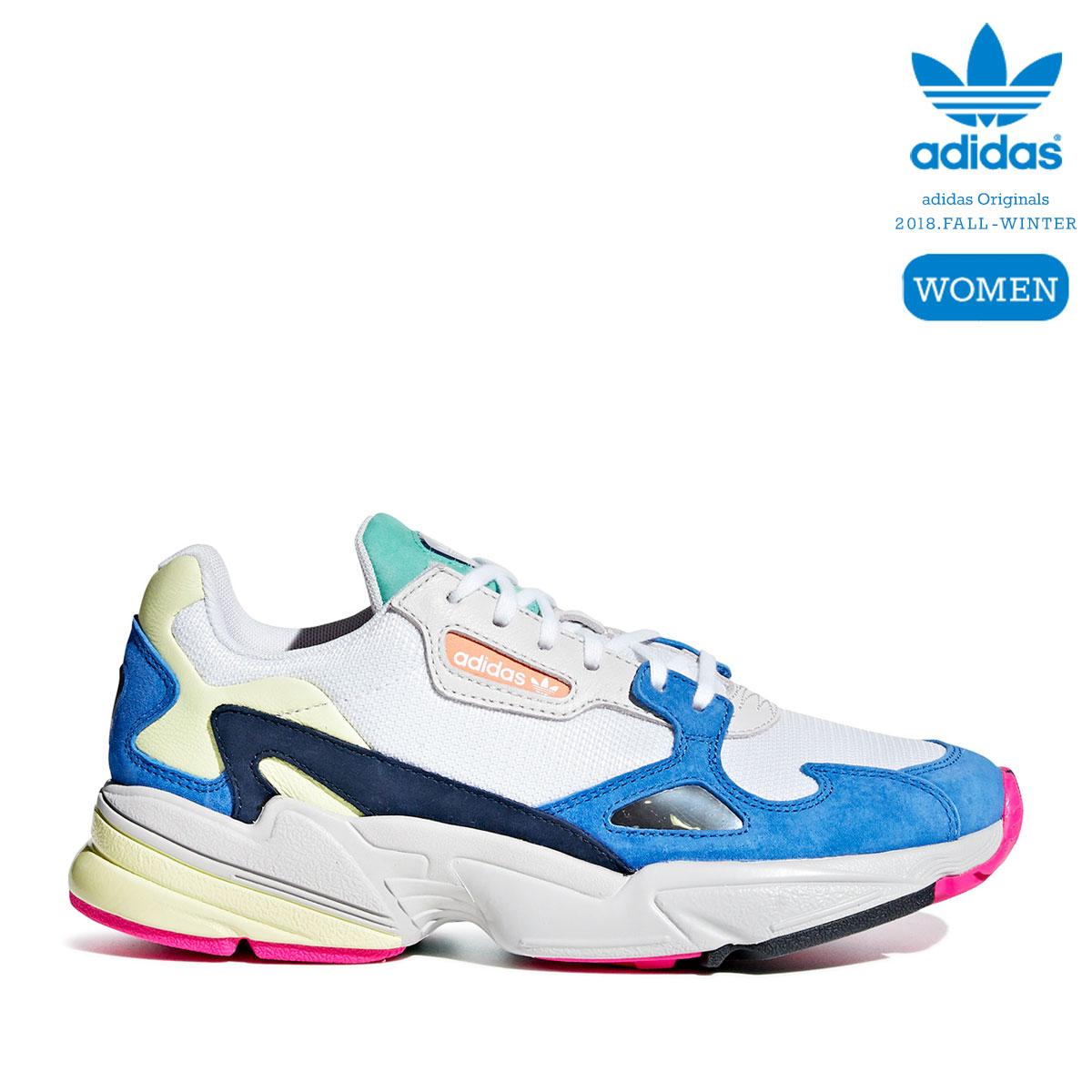 d65b5e995741dd Kinetics  adidas Originals ADIDASFALCON W (Running White Running  White Blue)