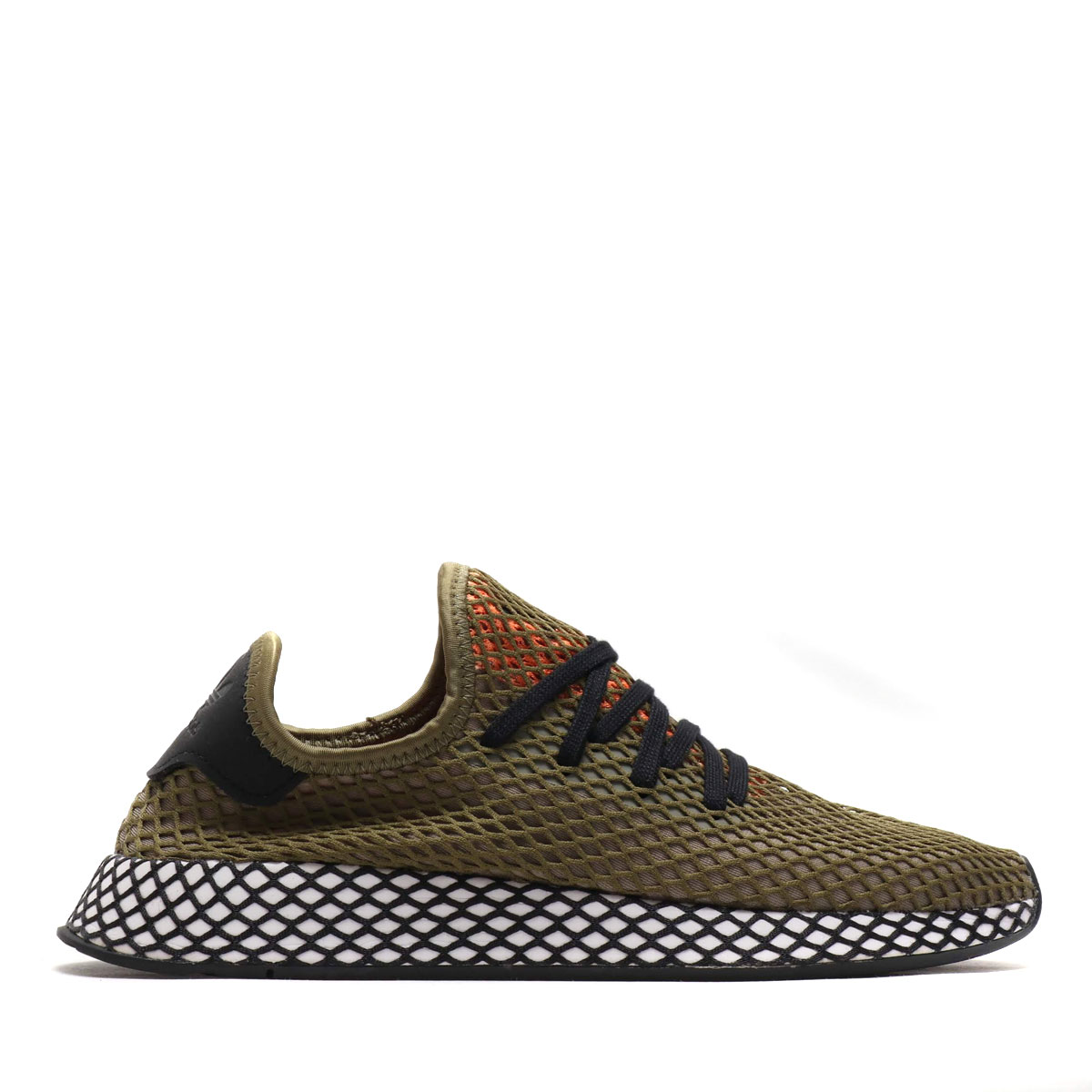 quality design 891cb 5a4d5 adidas Originals DEERUPT RUNNER (RAW KHAKICORE BLACKEASY ORANGE)  (アディダスオリジナルスディーラプトランナー)