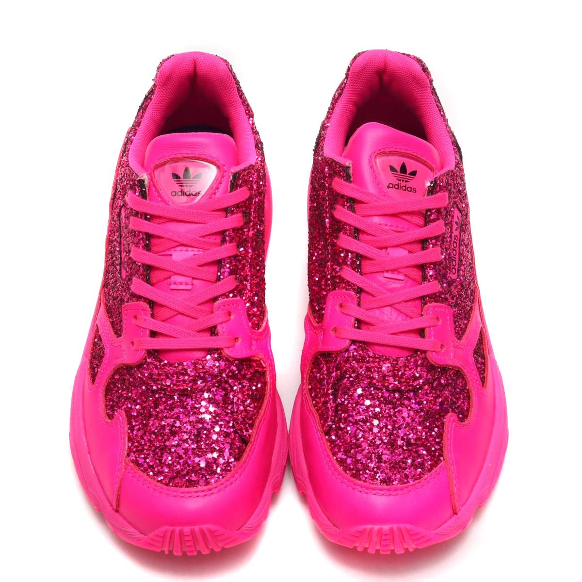 new styles c74c5 d89bb adidas Originals FALCON W (SHOCK PINK SHOCK PINK COLLEGE PURPLE) (Adidas  originals falcon W)