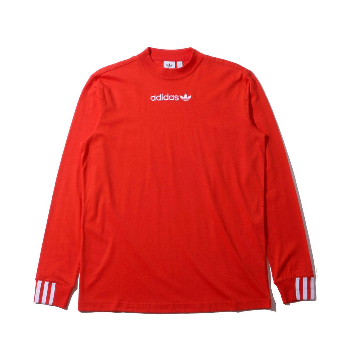 1a7ac5ee22 adidas Originals COEEZE LS TEE (ACTIVE RED) (Adidas originals COEEZE LS tea)  ...