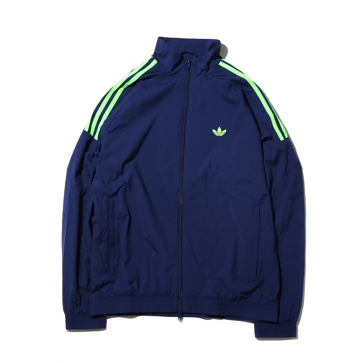 adidas Originals FLAMESTRIKE WOVEN TRACK TOP (DARK BLUE) (the Adidas originals frame strike Woo BUND rack top)