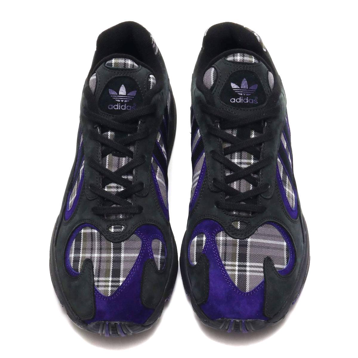 adidas Originals YUNG-1 (CORE BLACK COLLEGE PURPLE CORE BLACK) (Adidas  originals young people -1) e3b231f93