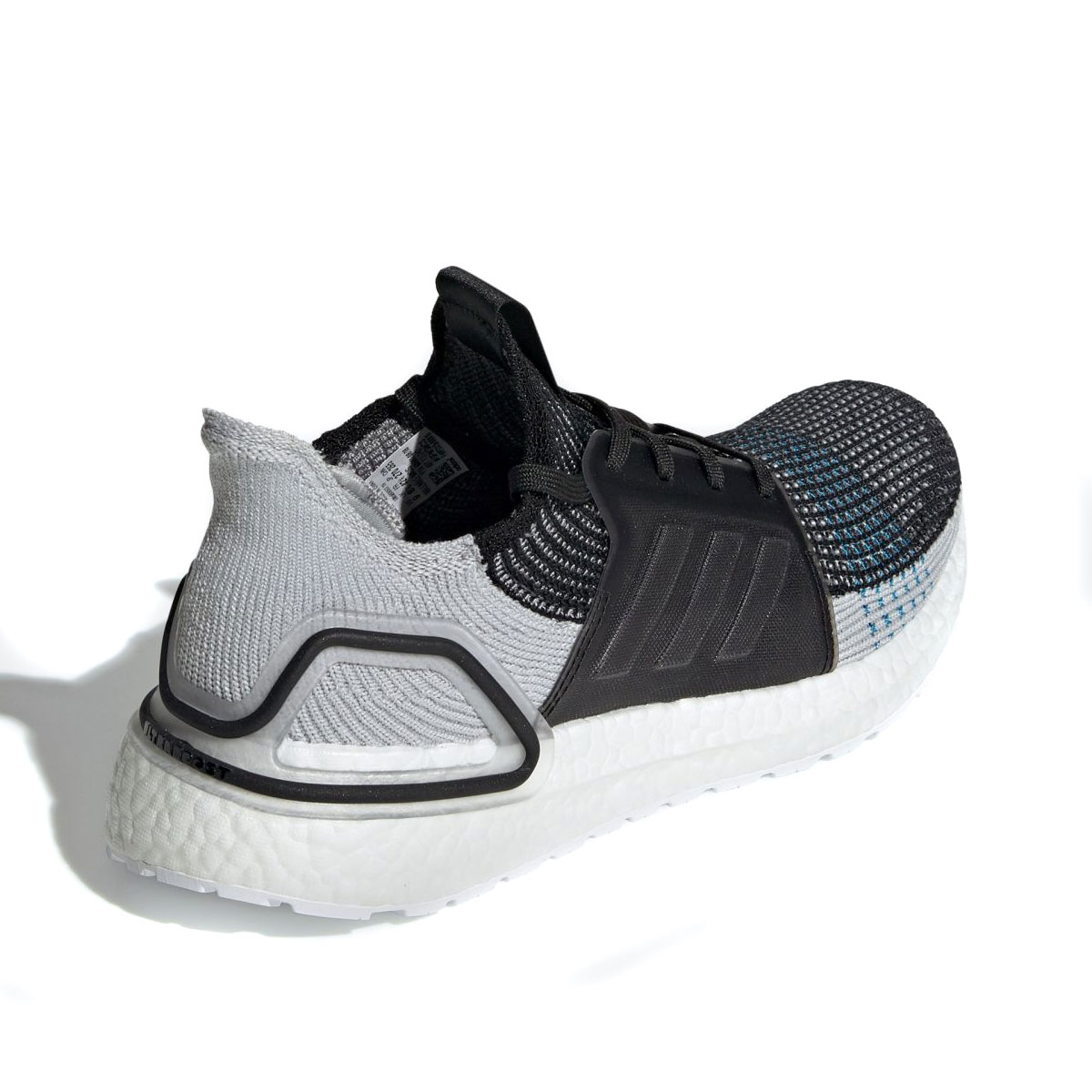 c19bf5df3172e adidas UltraBOOST 19 (CORE BLACK GREY SIX SHOCK CYAN) (Adidas ultra boost 19 )