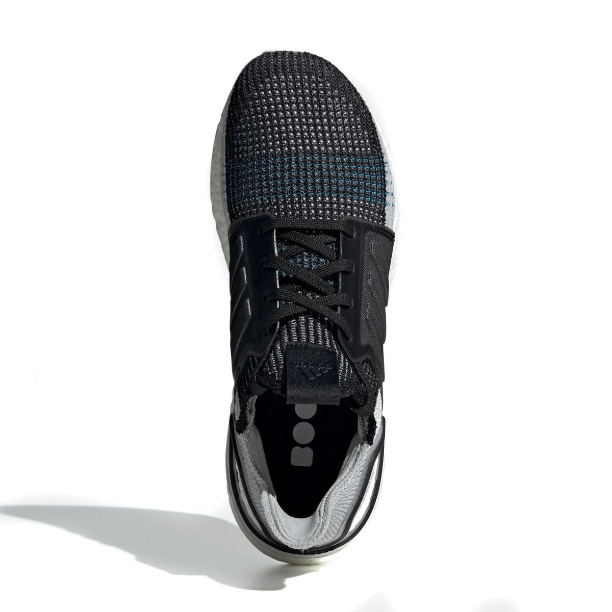 watch df46e 43a37 ... adidas UltraBOOST 19 (CORE BLACK GREY SIX SHOCK CYAN) (Adidas ultra ...