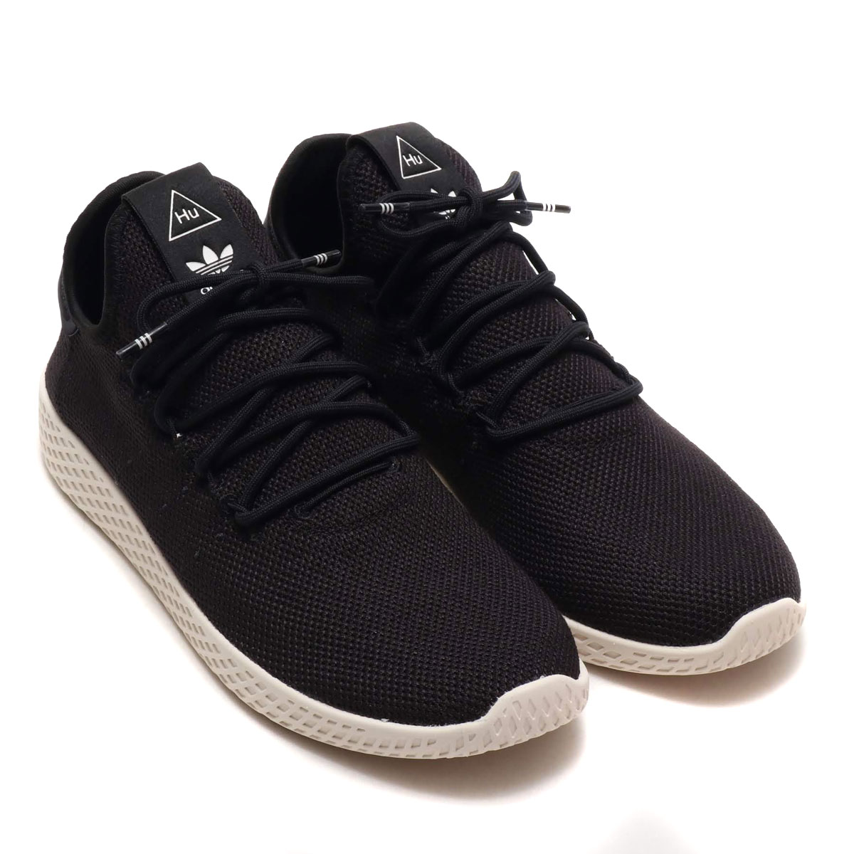 96d3688bf adidas Originals PW TENNIS HU (CORE BLACK CORE BLACK CHALK WHITE) (Adidas  originals PW tennis HU)