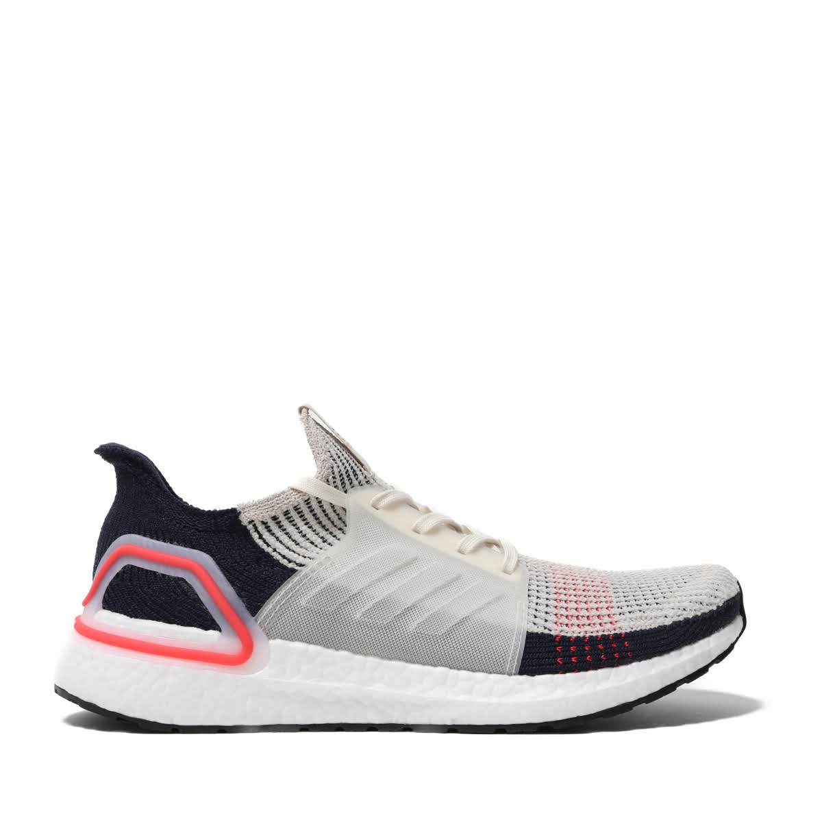 adidas UltraBOOST 19 (CLEAR BROWNCHALK WHITERUNNING WHITE) (Adidas ultra boost 19)
