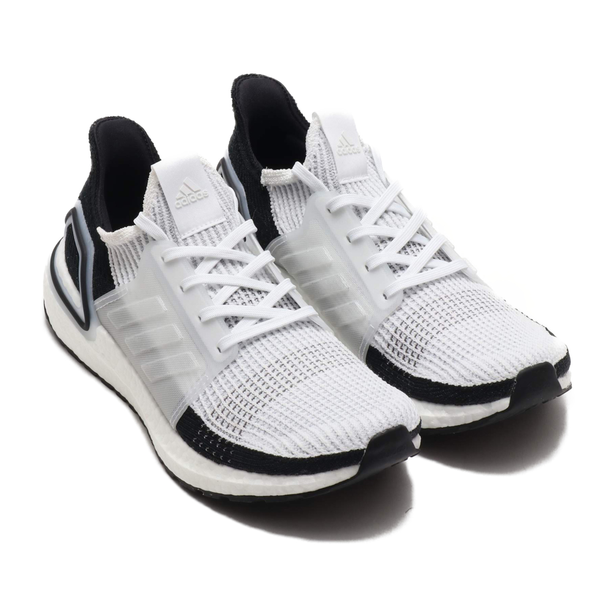 adidas UltraBOOST 19 (RUNNING WHITE RUNNING WHITE GREY TWO) (Adidas ultra  boost 19) e49e716dc