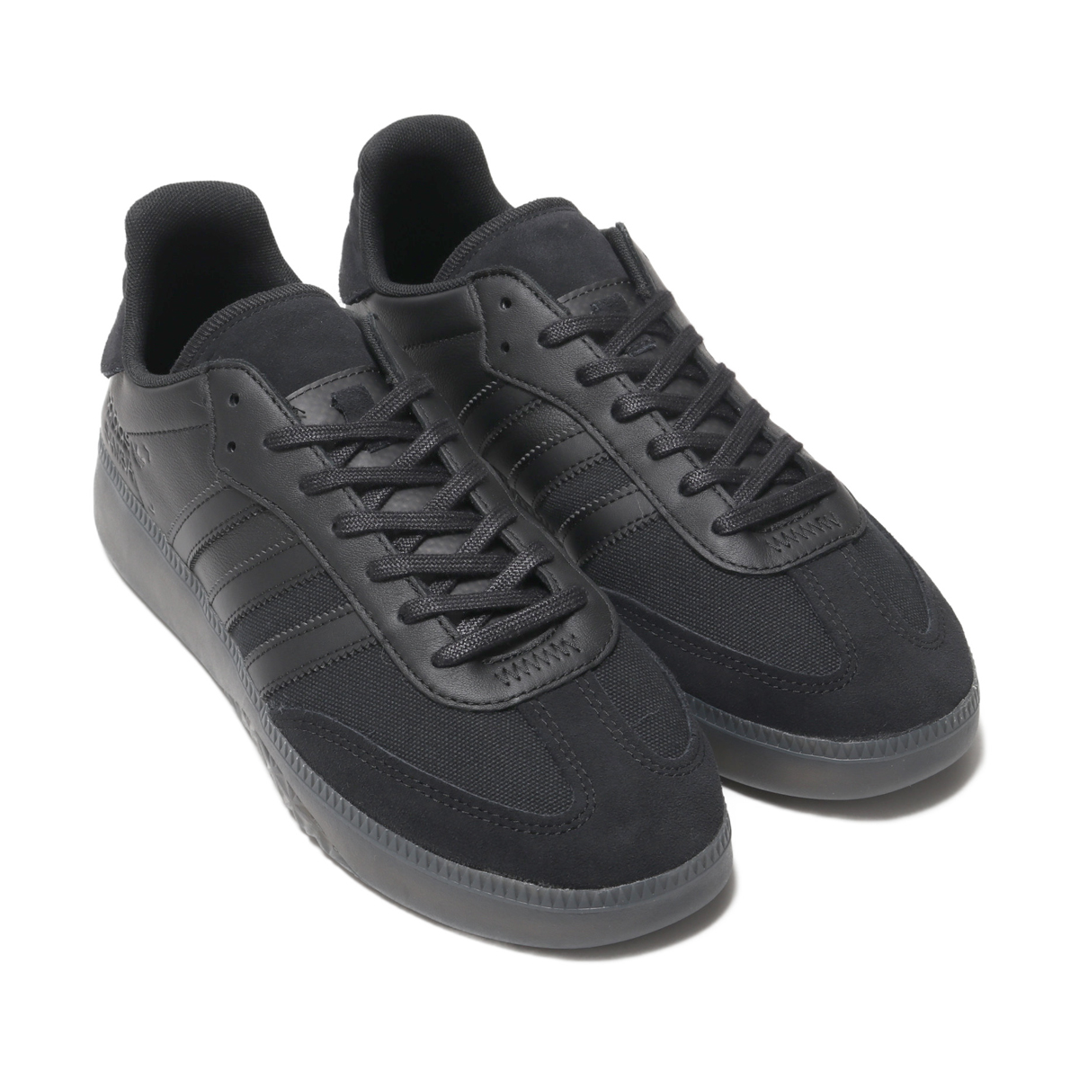 adidas Originals SAMBA RM (CORE BLACKCORE BLACKFTWR WHITE) (Adidas originals samba RM)