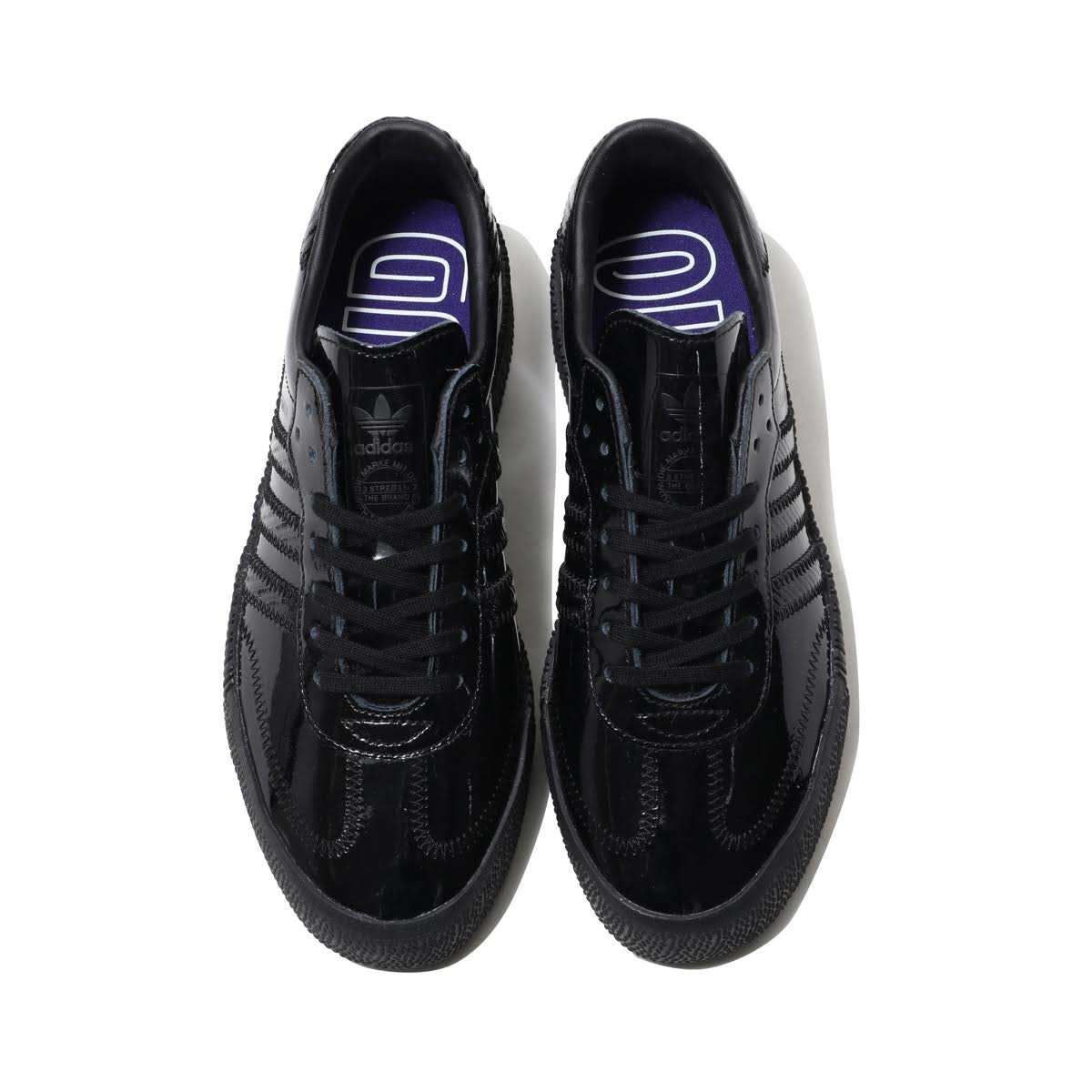 baf28356e50e adidas Originals SAMBAROSE W (CORE BLACK CORE BLACK ACTIVE PURPLE) (Adidas  originals samba Rose W)