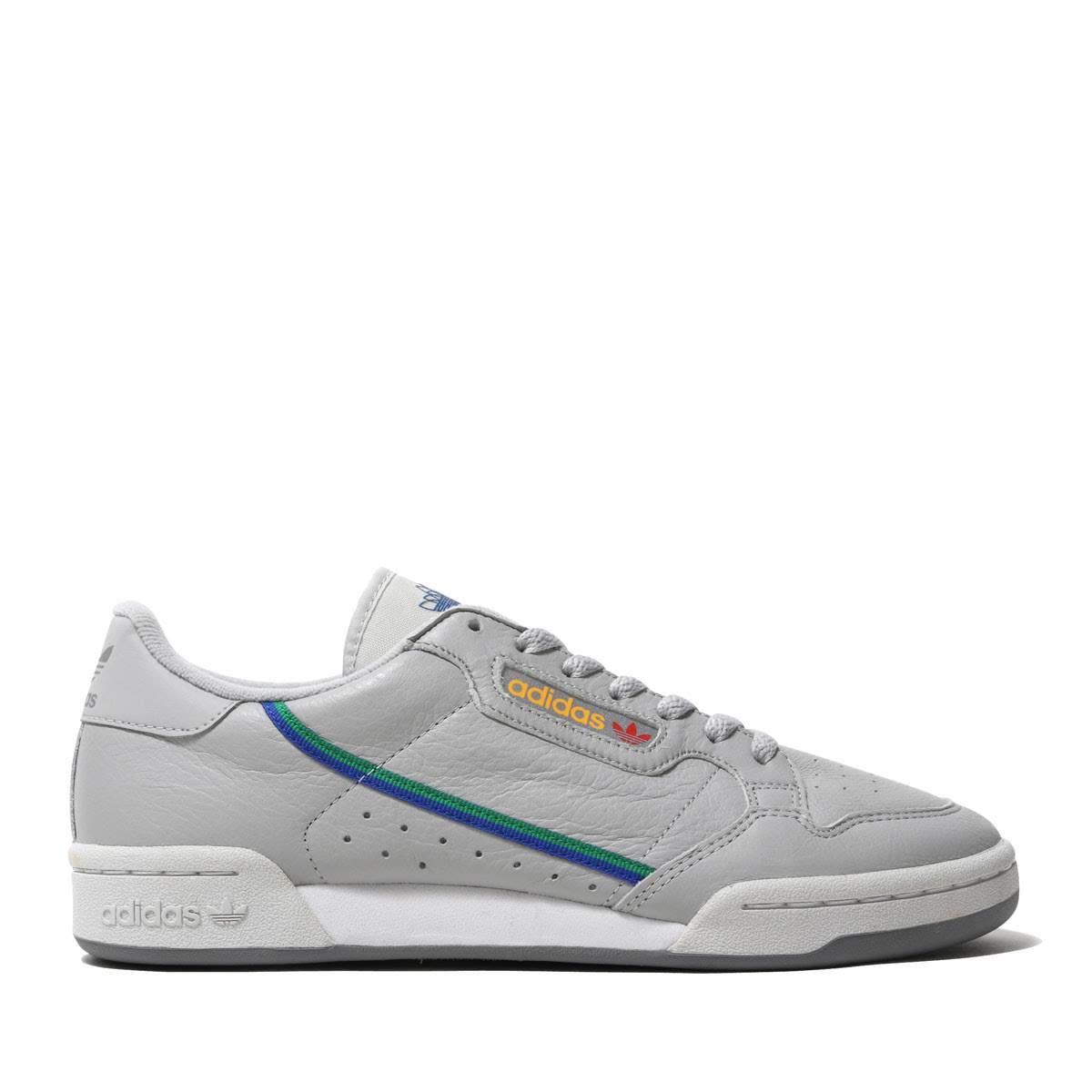 adidas Continental 80 (Grey Two Grey One Scarlet)
