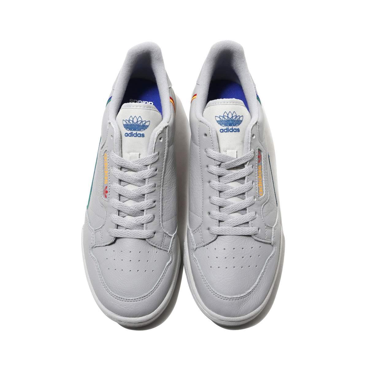 promo code e8234 6eb00 adidas Originals CONTINENTAL 80 (GREY TWOGREY ONESCARLET) (Adidas  originals Continental 80)