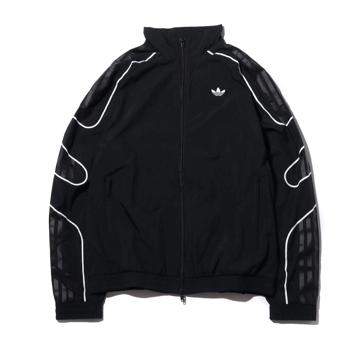 adidas FLAMESTRIKE WOVEN TRACK TOP(BLACK)(アディダス フレイムストライク ウーブン トラック トップ)【メンズ】【ジャージ】【19SS-I】