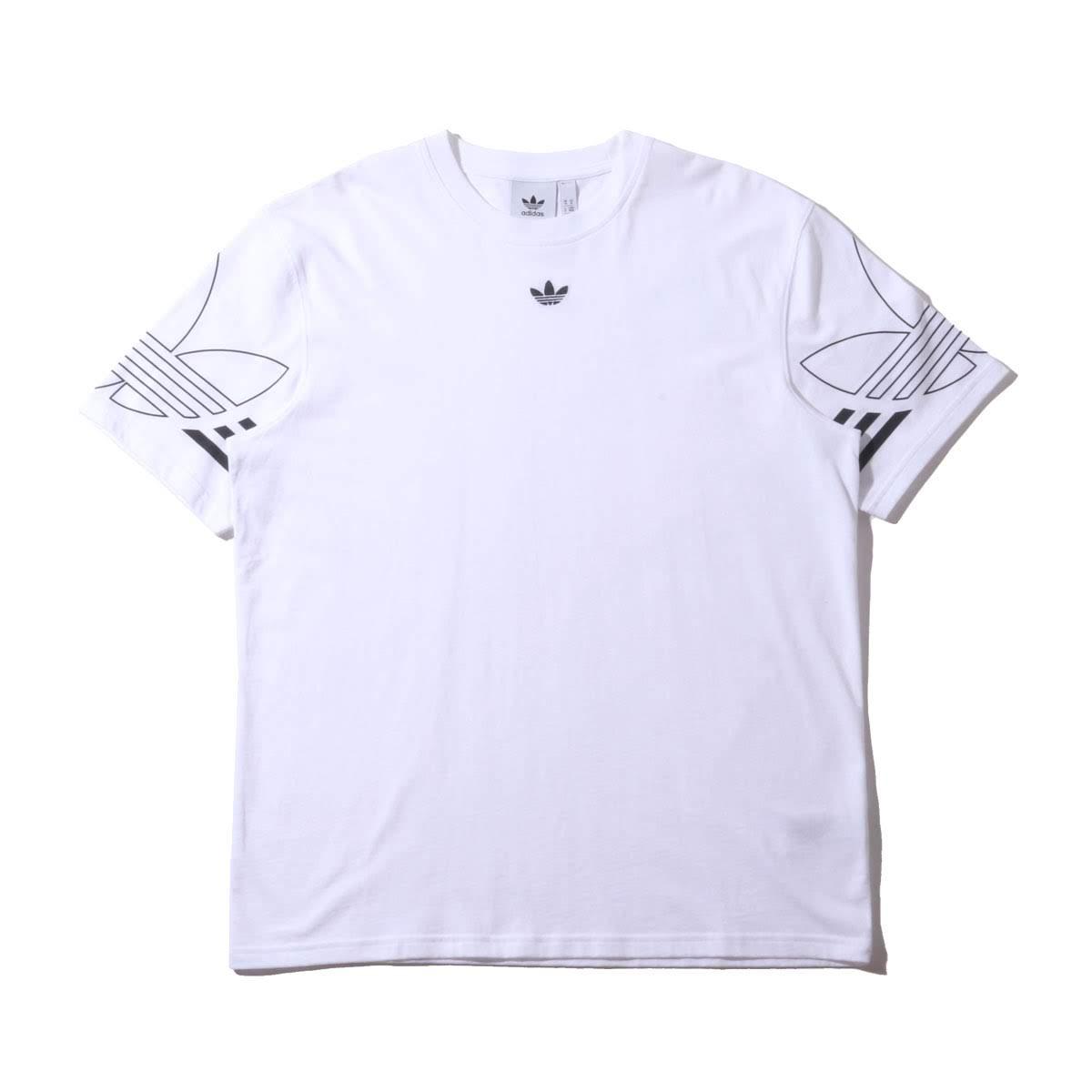 2f84e053 Kinetics: adidas OUTLINE TEE (WHITE) (Adidas outline tea) | Rakuten ...