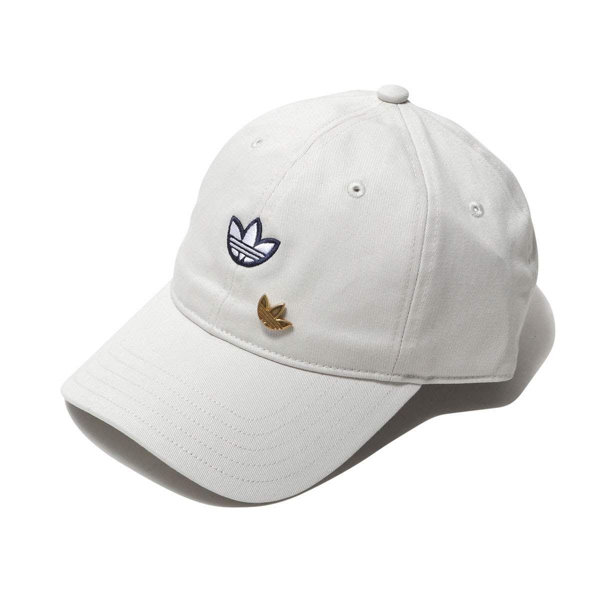 b82a9699476 adidas Originals SAMSTAG DAD CAP (RAW WHITE WHITE GOLDMET)  (アディダスオリジナルスサムスタグダッドキャップ)