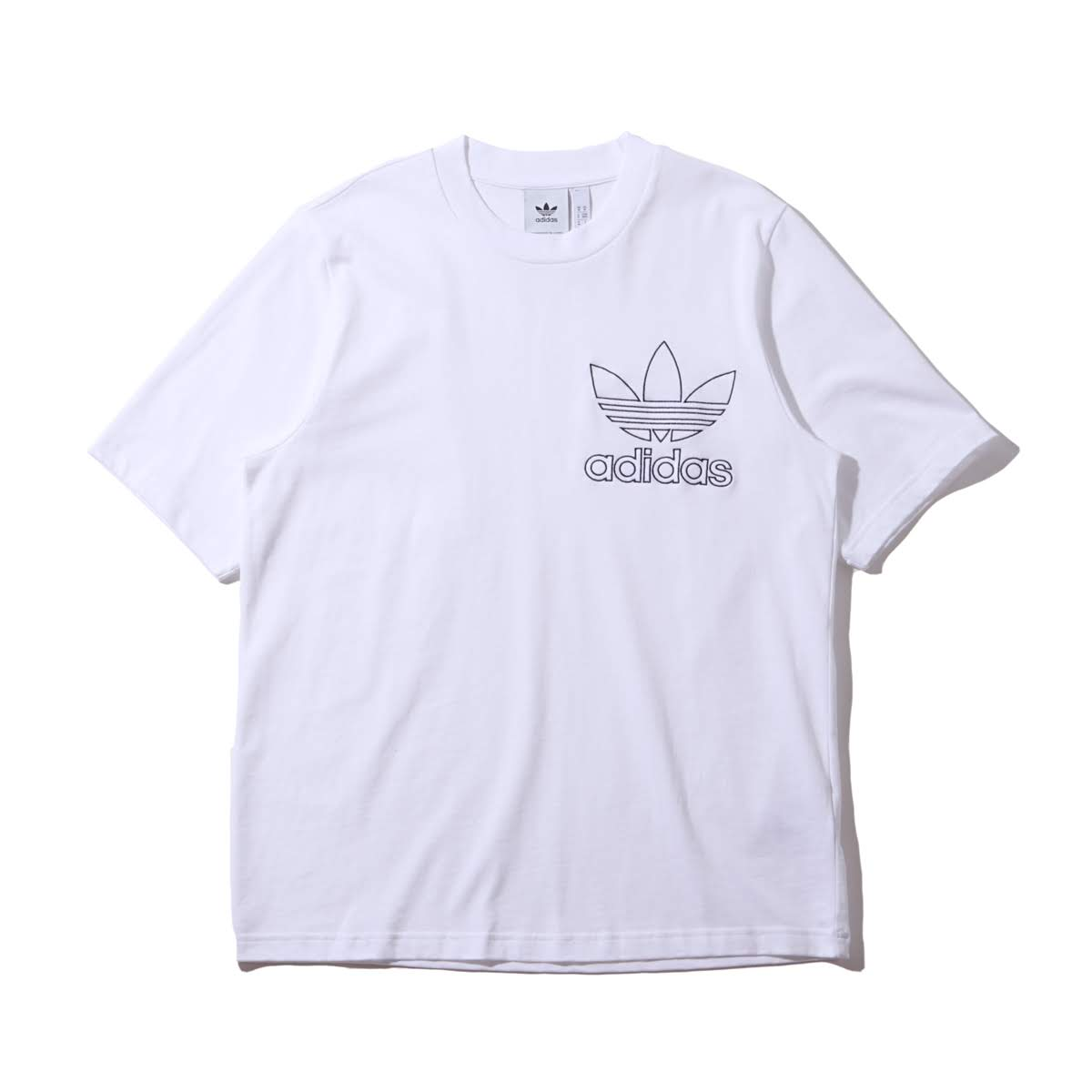 16e79813 adidas Originals OUTLINE TEE (WHITE) (Adidas originals outline tea) ...