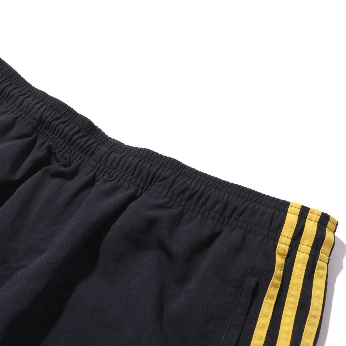 black gold adidas pants