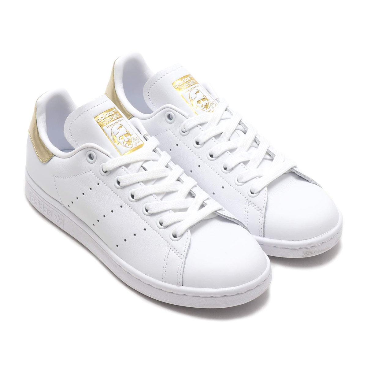 adidas Originals STAN SMITH W(RUNNING WHITE/RUNNING WHITE/GOLDMET)(アディダスオリジナルス スタンスミス W)【レディース】【スニーカー】【19SS-I】