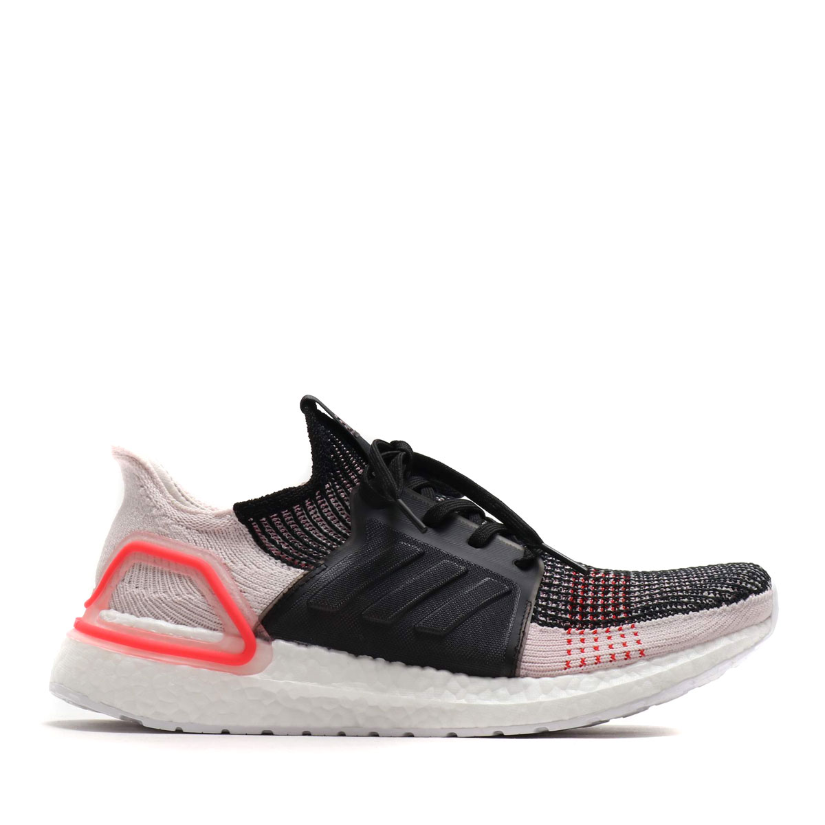 premium selection 738b6 7597b adidas UltraBOOST 19 (CORE BLACK/ORCHID TINT/ACTIVE RED) (Adidas ultra  boost 19)