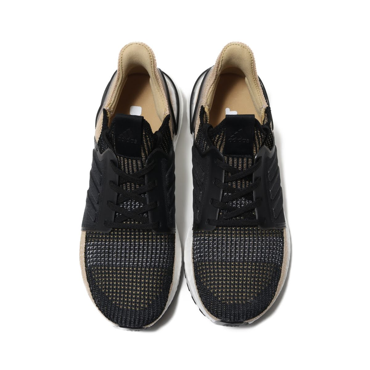 b739450c8dceb adidas UltraBOOST 19 (CORE BLACK RAW SAND GREY SIX) (Adidas ultra boost 19)