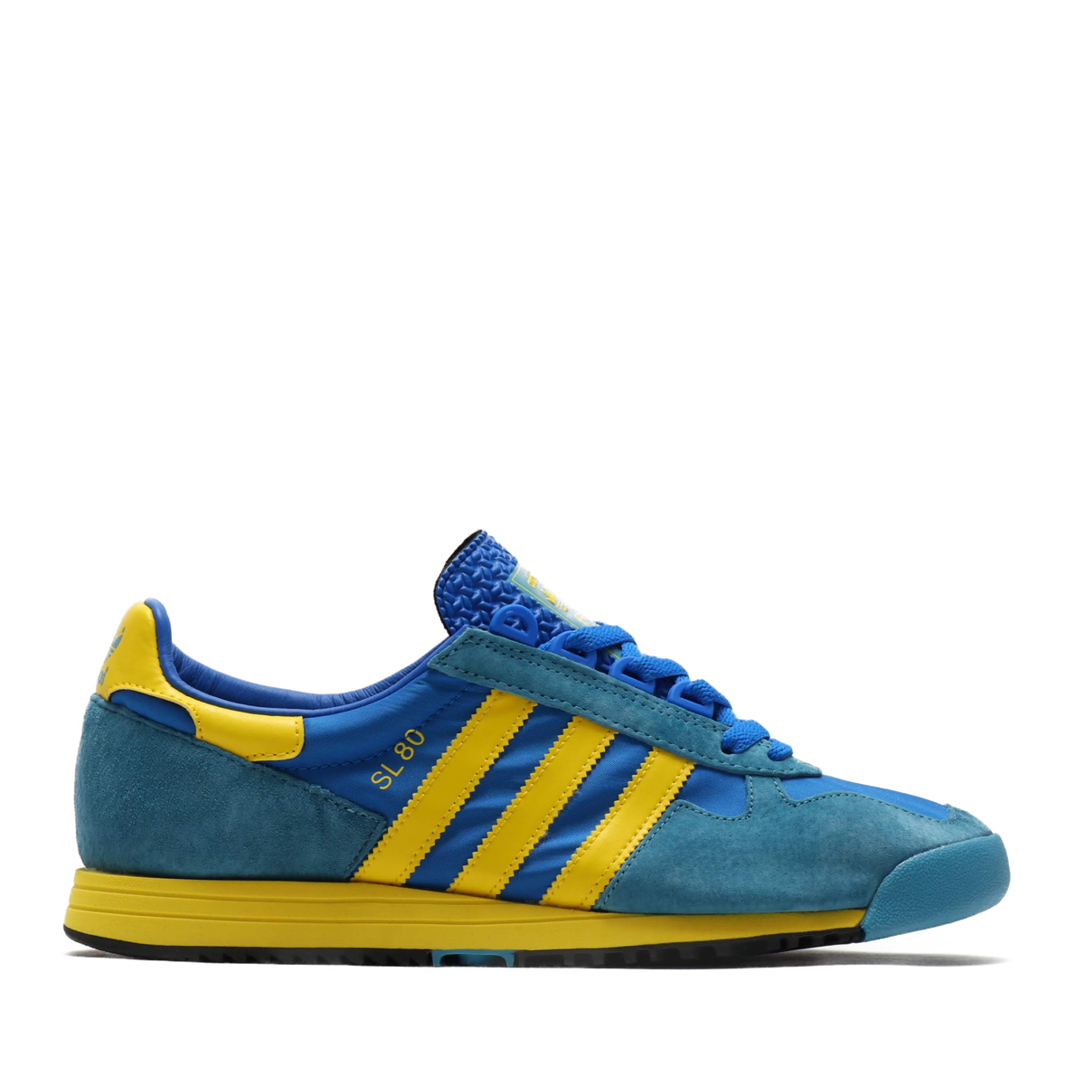 adidas SL 80(GLORY BLUE/YELLOW/TACTILE STEEL)(アディダス エスエル 80)【メンズ】【レディース】【スニーカー】【20SS-I】