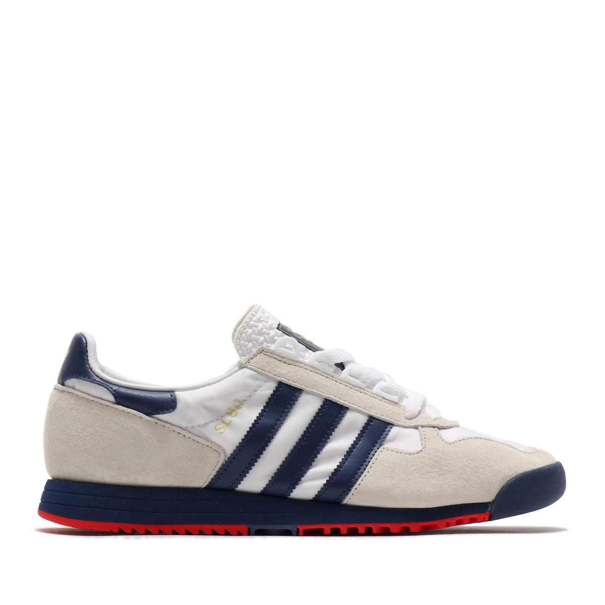 adidas SL 80(FOOTWEAR WHITE/TECH INDIGO/ORBIT GRAY)(アディダス エスエル 80)【メンズ】【レディース】【スニーカー】【20SS-S】