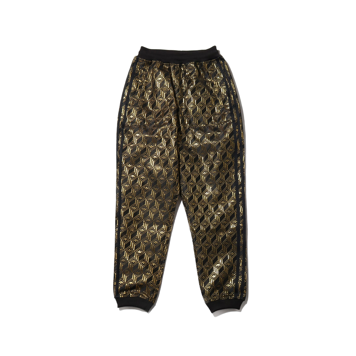 adidas PREMIUM SST TRACK PANTS(BLACK/GOLD METRIC)(アディダス プレミアム スーパースター トラックパンツ)【レディース】【ロングパンツ】【20SS-I】