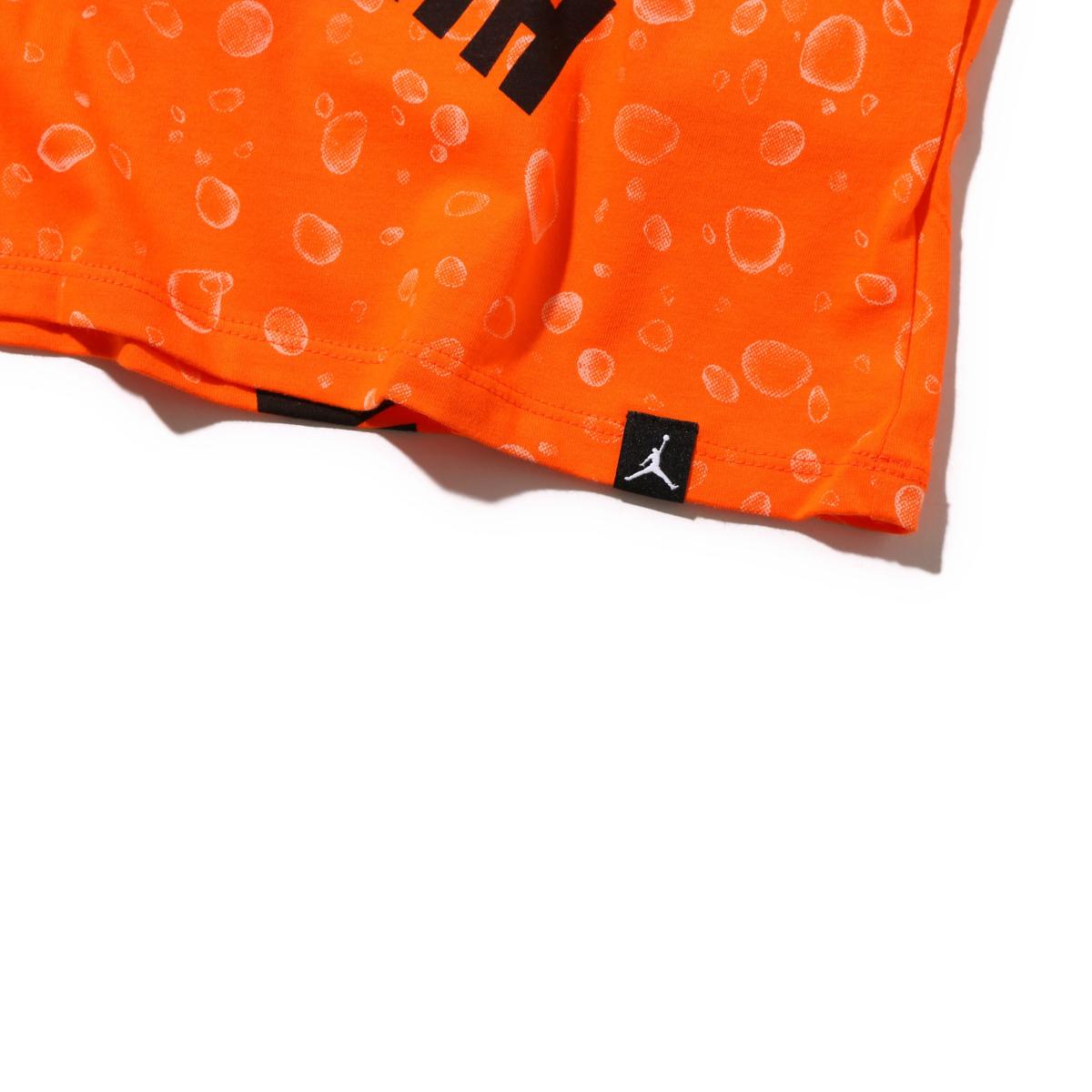 buy online 66d1e 92730 NIKE M JSW TEE LIKE MIKE AOP (SAFETY ORANGE WHITE) (Nike Jordan like  microphone AOP short sleeve T-shirt)
