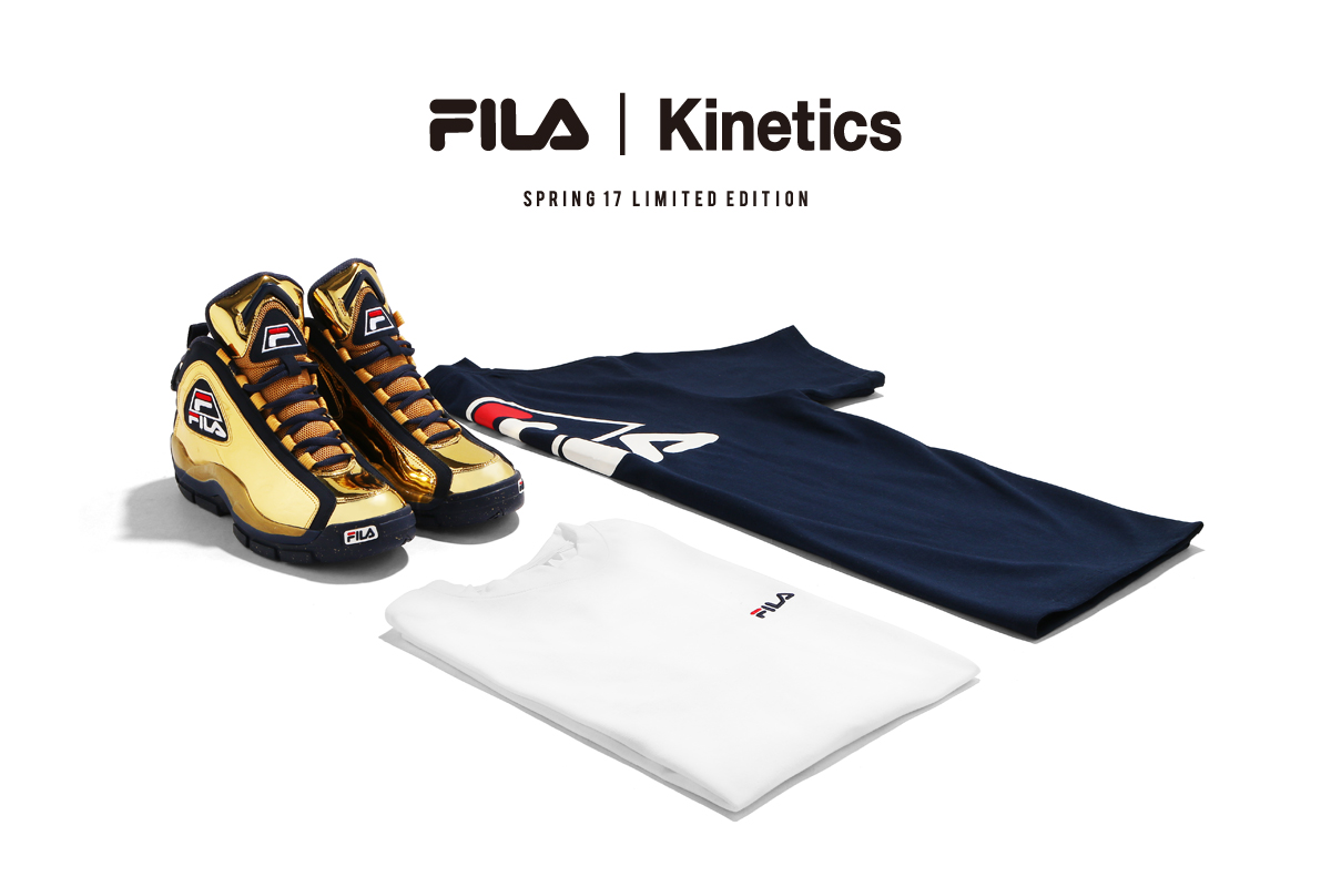 FILA×Kinetics 96GL Metallic(GOLD)