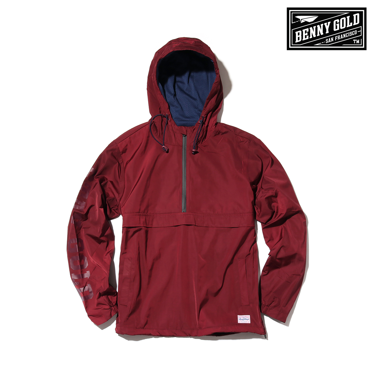 BENNY GOLD Stay Gold Anorak Jacket (2Color) 【メンズサイズ】【18FW-I】【30】【sale0123】