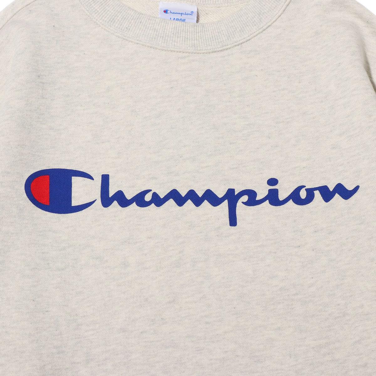 6750b8c96 ... Champion CREW NECK SWEATSHIRT (oatmeal) (champion crew neck sweat shirt)  ...