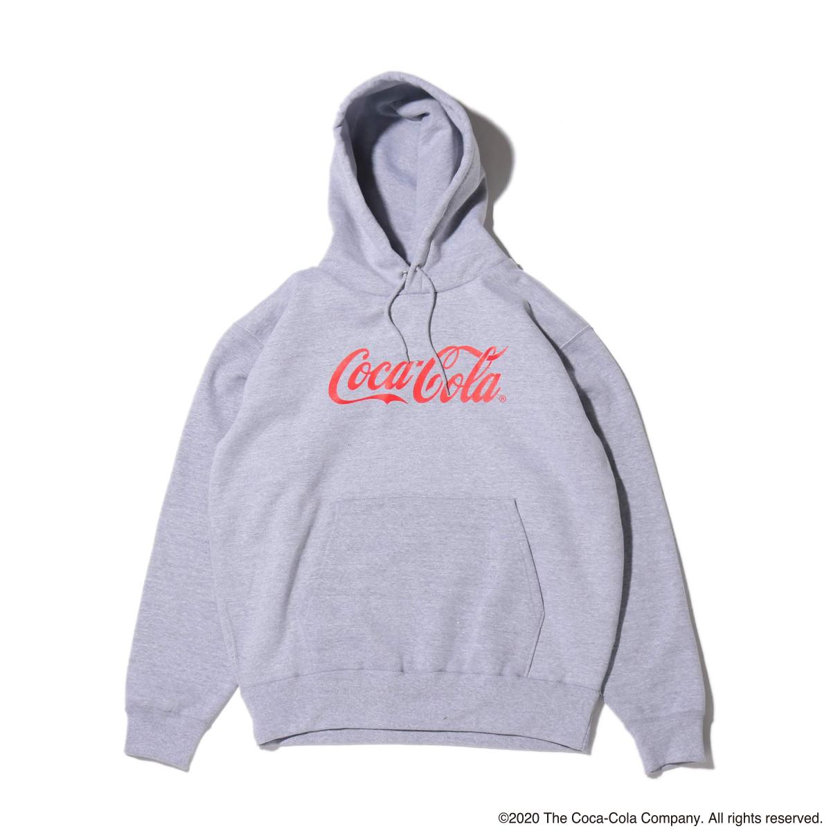 COCA-COLA x BETTY BOOP™ PULLOVER SWEAT HOODIE(GRAY)(コカコーラ x ベティーブープ™ プルオーバースウェットフーディー)【メンズ】【レディース】【パーカー】【20SP-S】