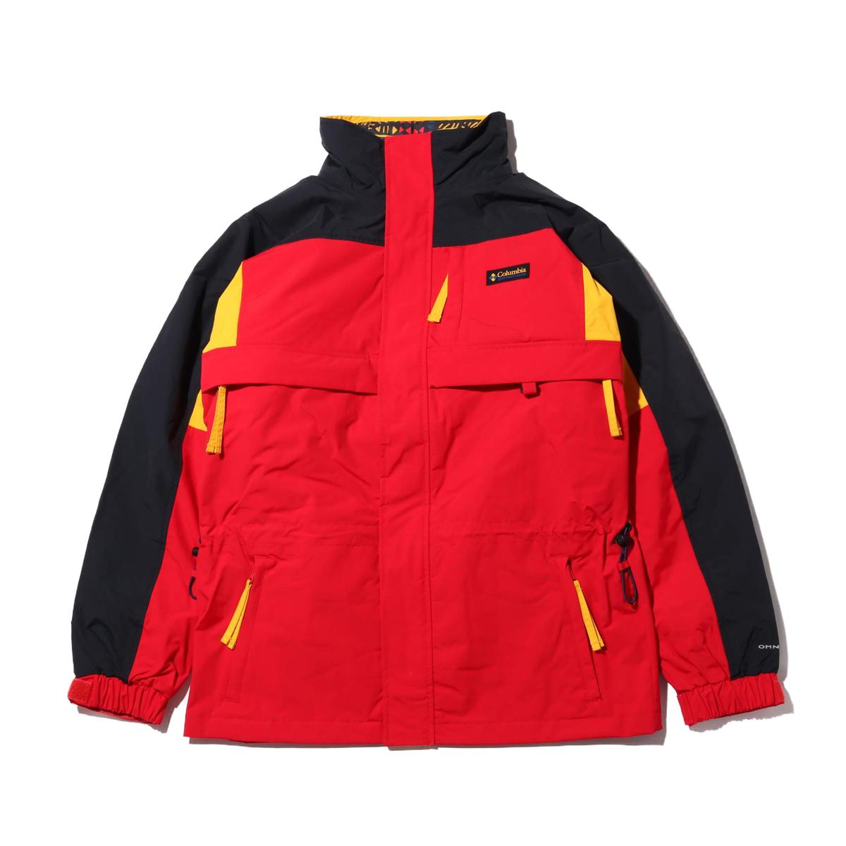 Columbia Gizzmo™ Interchange Parka(Mountain Red, Black)(コロンビア ギズモ インターチェンジ パーカー)【メンズ】【パーカー】【19FA-I】