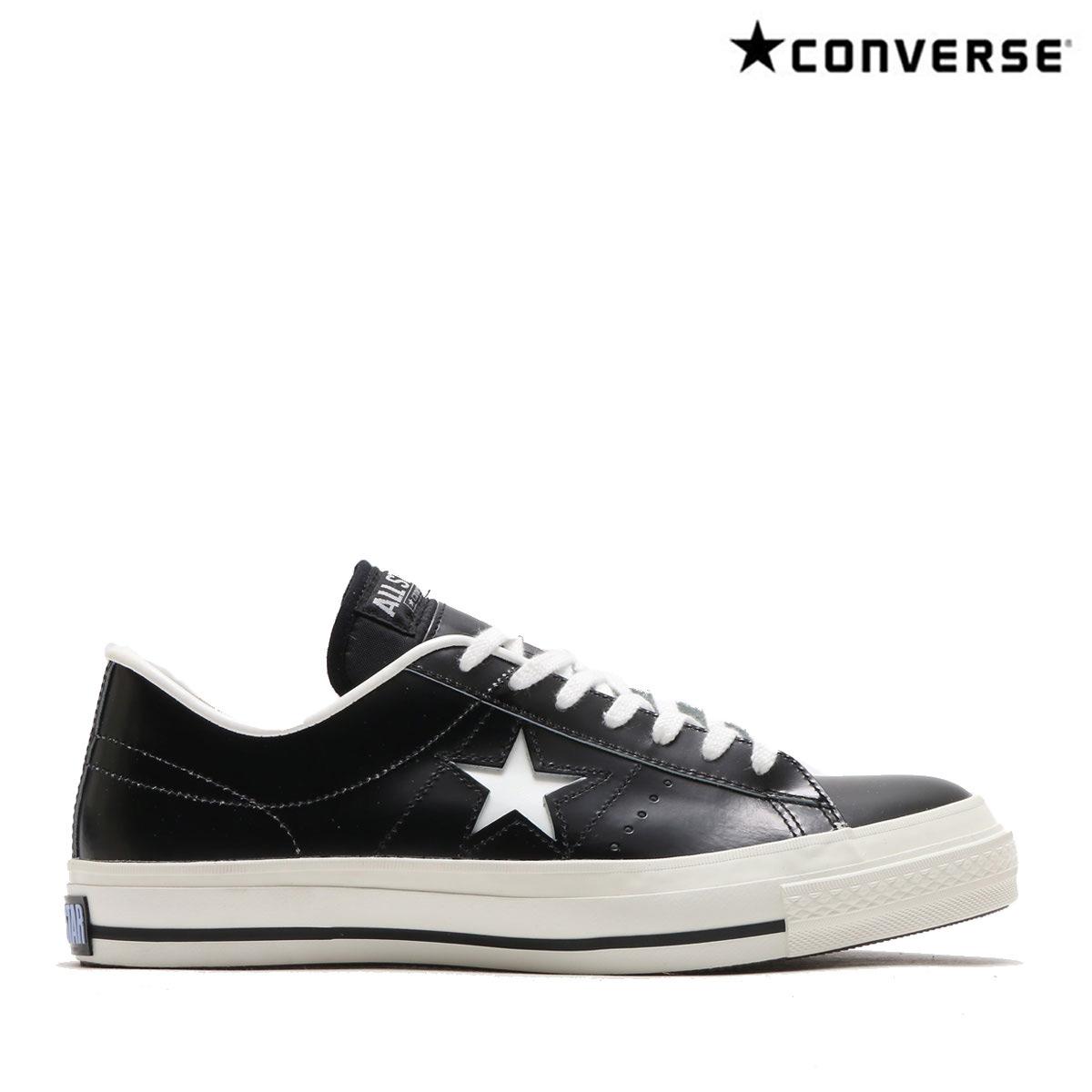 CONVERSE ONE STAR J(BLACK/WHITE)(コンバース ワン スター J)【ユニセックス】【スニーカー】【MADE IN JAPAN】【日本製】【CRYOVR】【10】【sale0123】