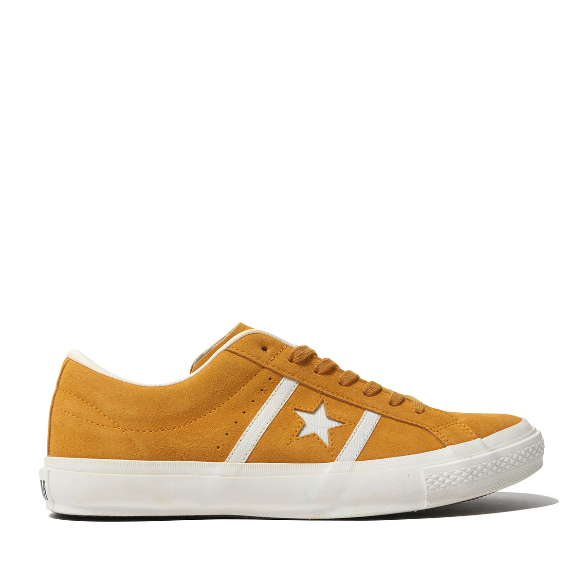 CONVERSE STAR&BARS SUEDE TEAMCOLORS (YELLOW) (Converse star & Byrds suede team color)