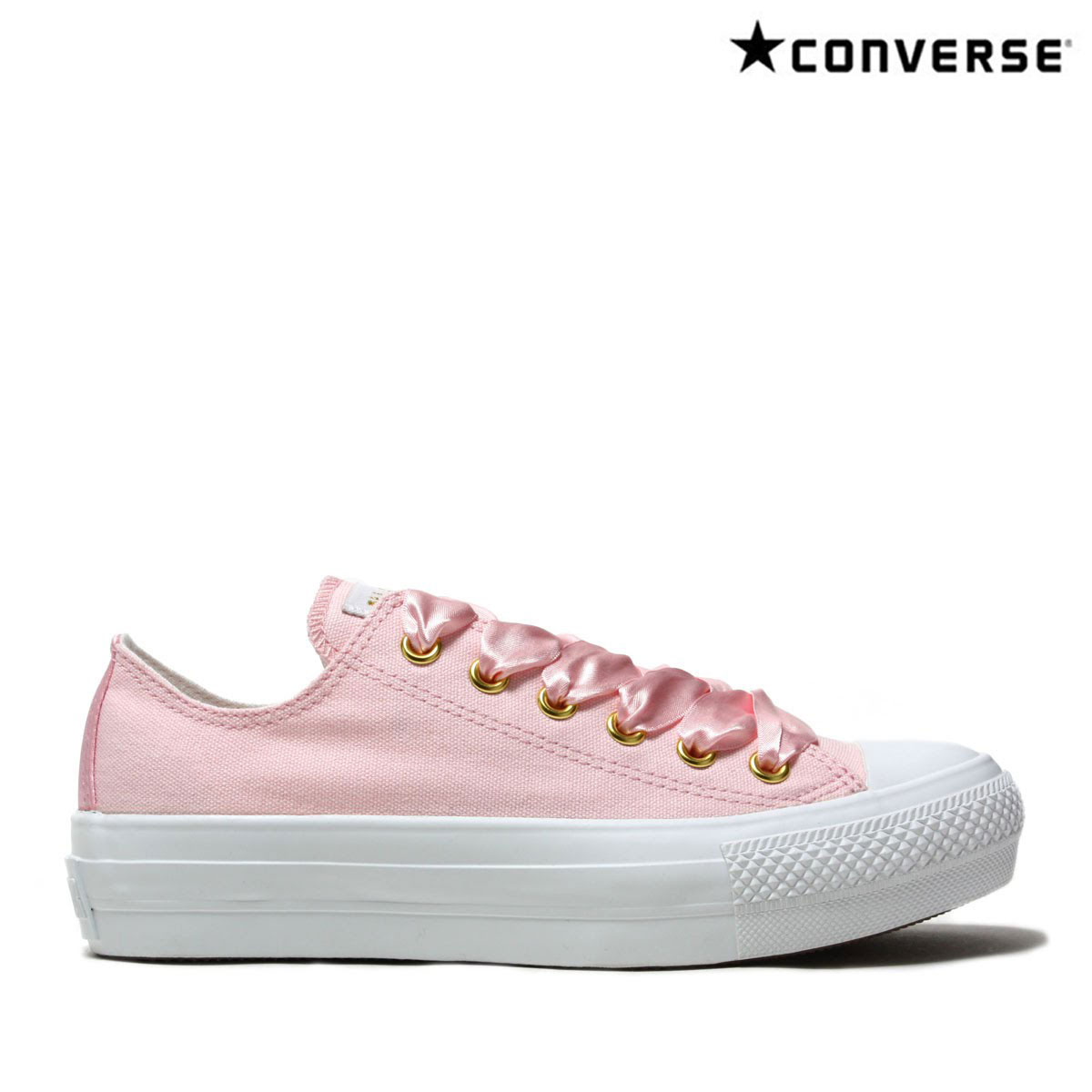 e11555871c6e CONVERSE ALL STAR PLTS SATINPOINT OX (PINK) (Converse all-stars PLTS satin  point OX)
