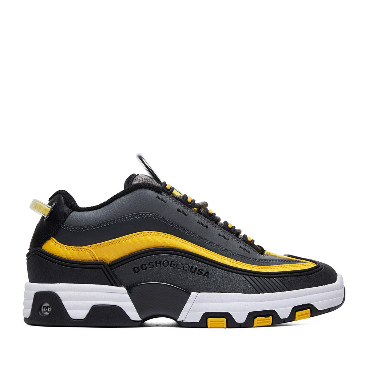 Dc Shoes Legacy Og Grey Black Yellow D Sea