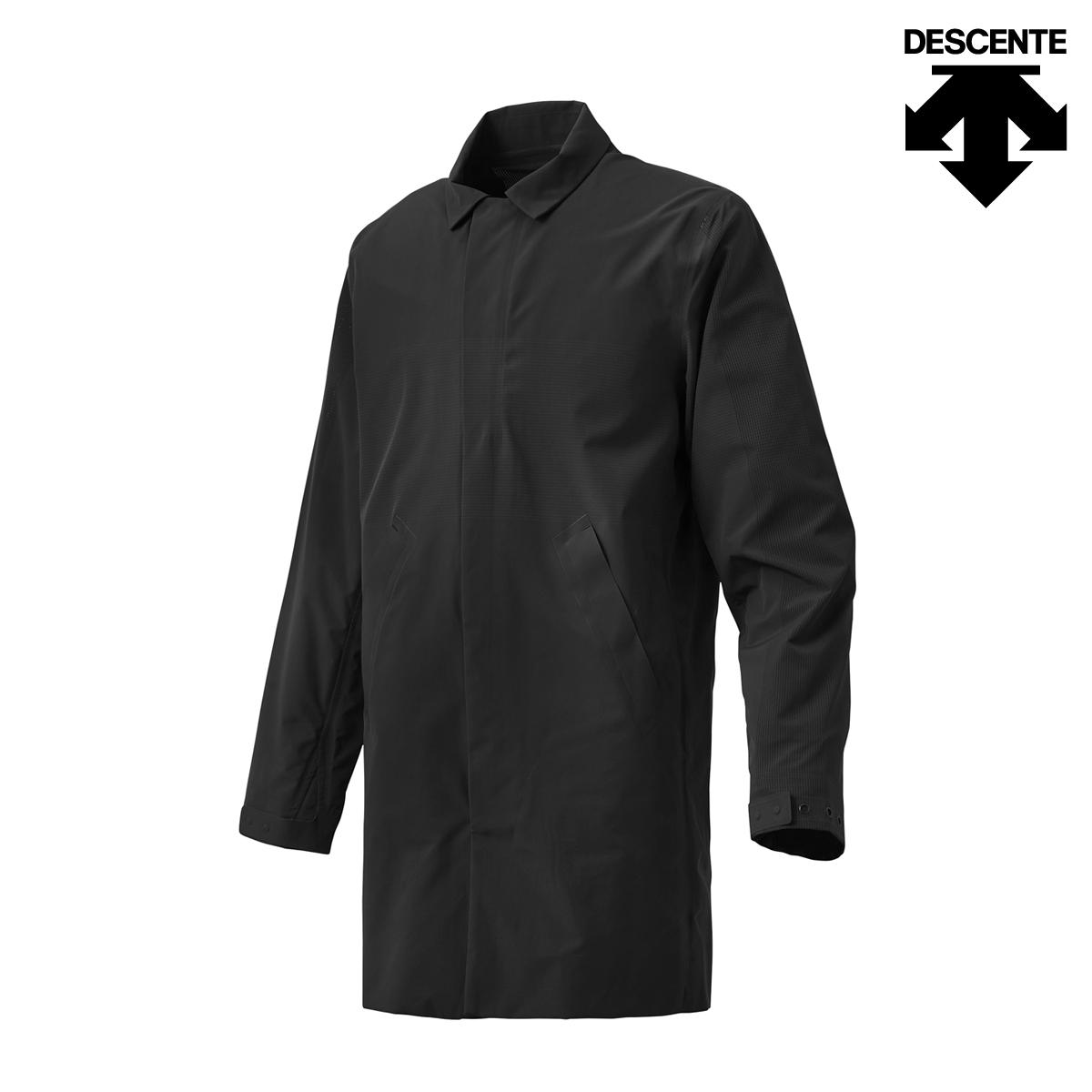 DESCENTE ALLTERRAIN SCHEMATECH AIR STRETCH COAT(BLACK)(デサント オルテライン スキーマテック エアー ストレッチ コート)【メンズ】【ジャケット】【18SP-I】