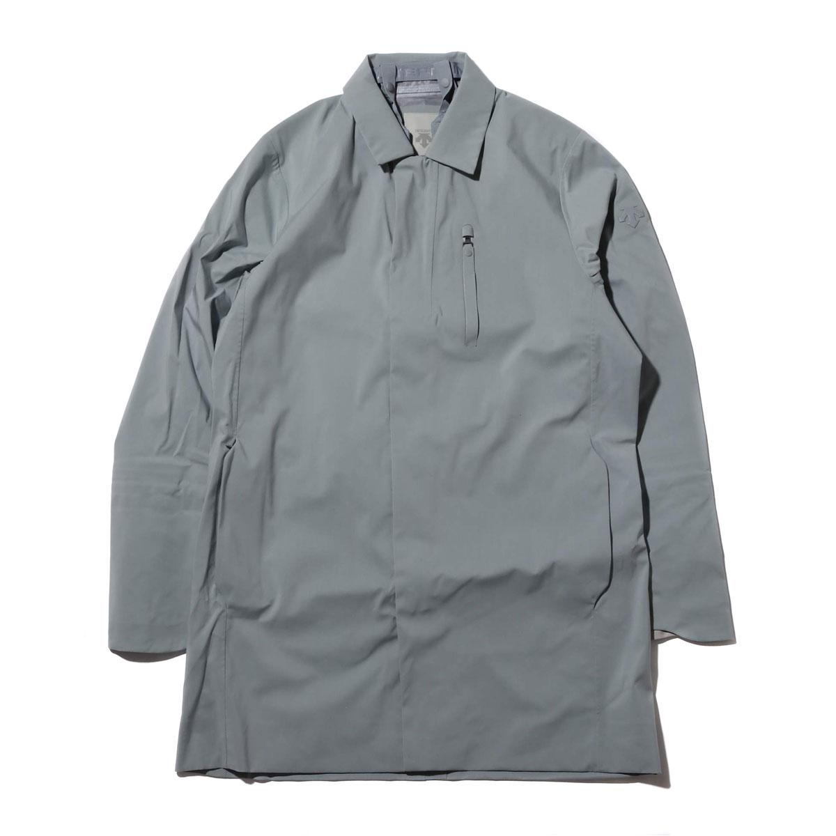 DESCENTE ALLTERRAIN HARD SHELL BAL COLLAR COAT(FOG GRAY)(デサント オルテライン ハード シェル ステンカラー コート)【メンズ】【コート】【18FA-I】