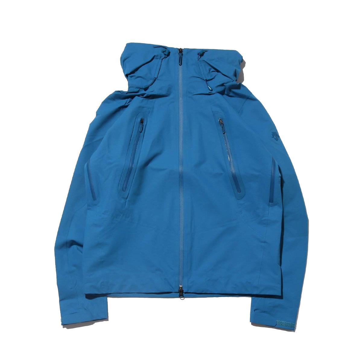 DESCENTE ALLTERRAIN ACTIVE SHELL JACKET(BLUE ACID)(デサント オルテライン アクティブ シェル ジャケット)【メンズ】【ジャケット】【18FA-I】