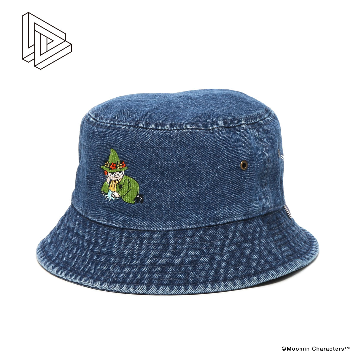 DL Headwear x MOOMIN CHILLING BUCKET HAT (three colors of development) D L  headware x Mumin climbing pail hat) 401de5565514