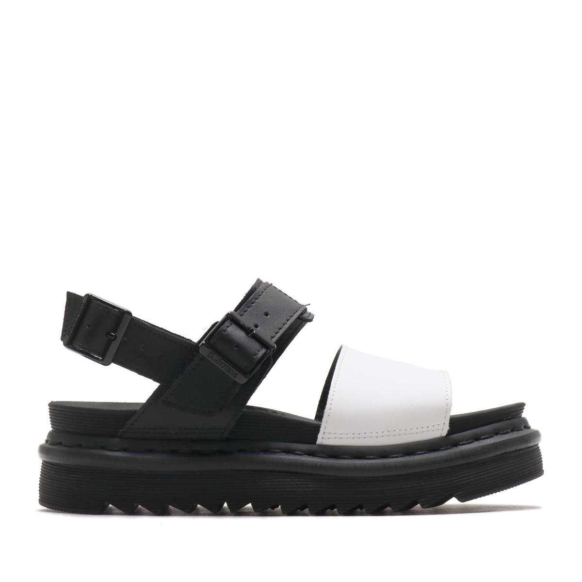 Dr.Martens Voss Strap Sandal(Black/White Hydro Leather)(ドクターマーチン ボス ストラップ サンダル)【レディース】【サンダル】【19SS-I】